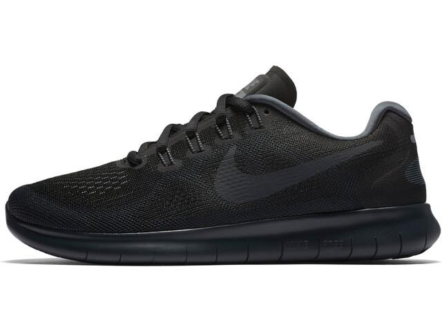 Nike Free RN 2017 scarpe da corsa Donna nero